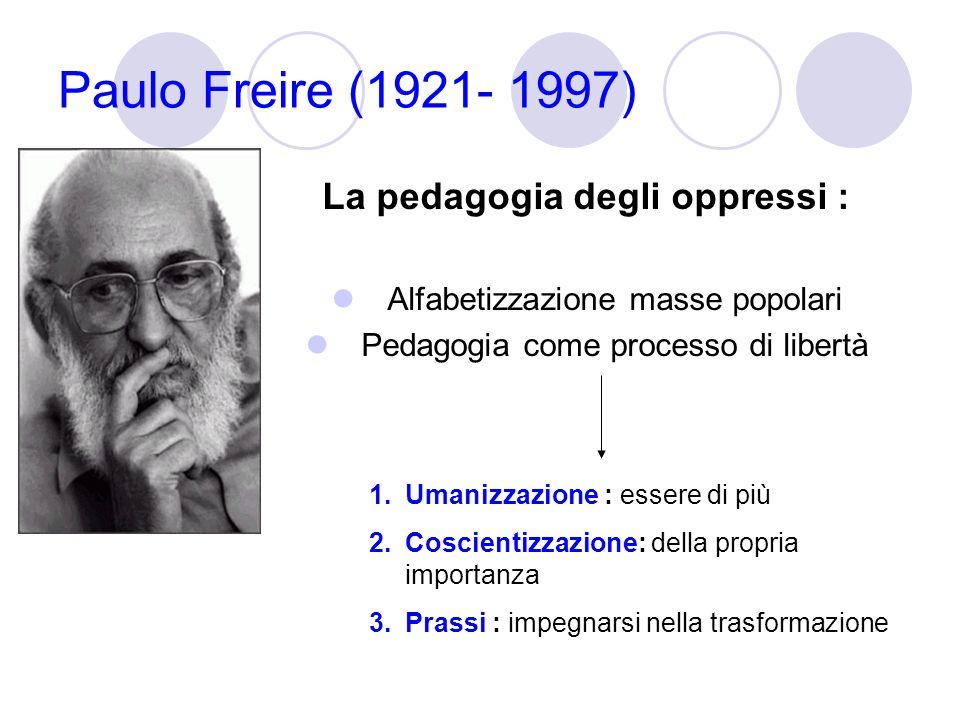 La pedagogia degli oppressi :