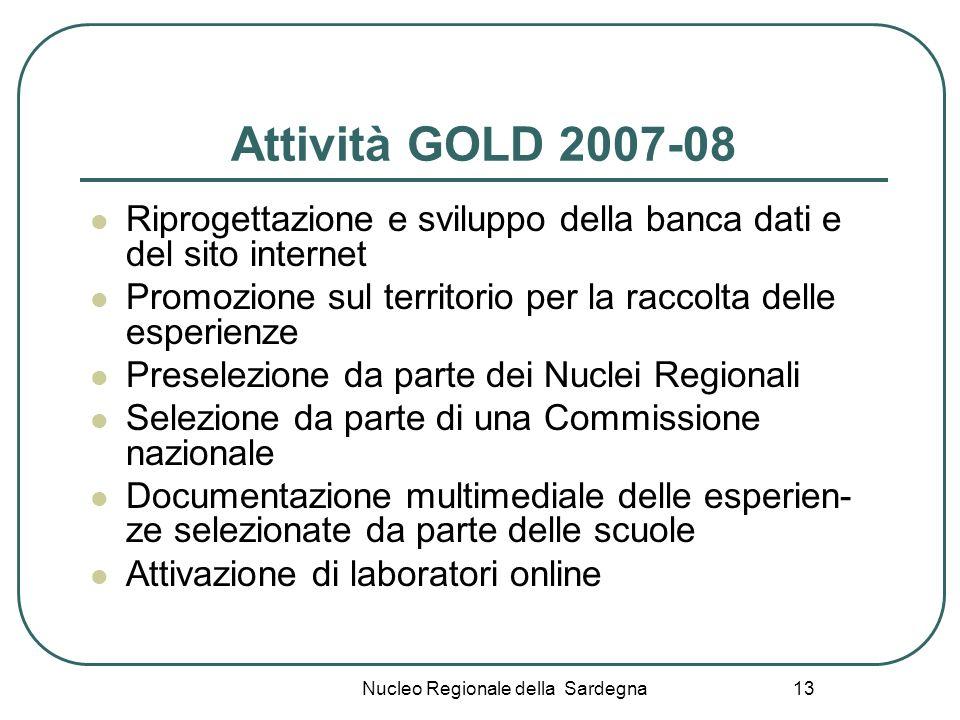 Nucleo Regionale della Sardegna