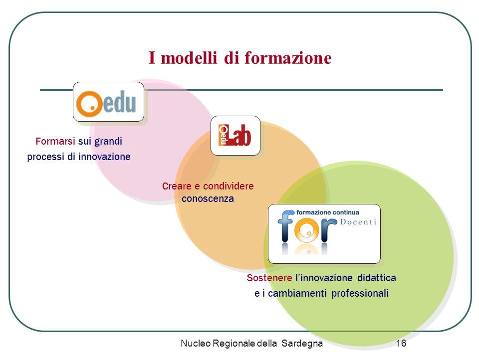 I modelli di formazione