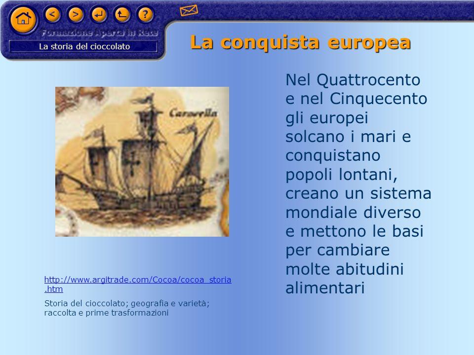 La conquista europea