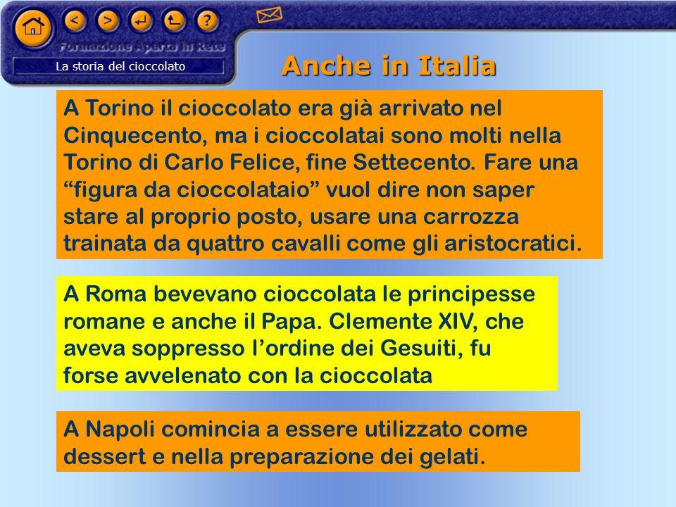 Anche in Italia