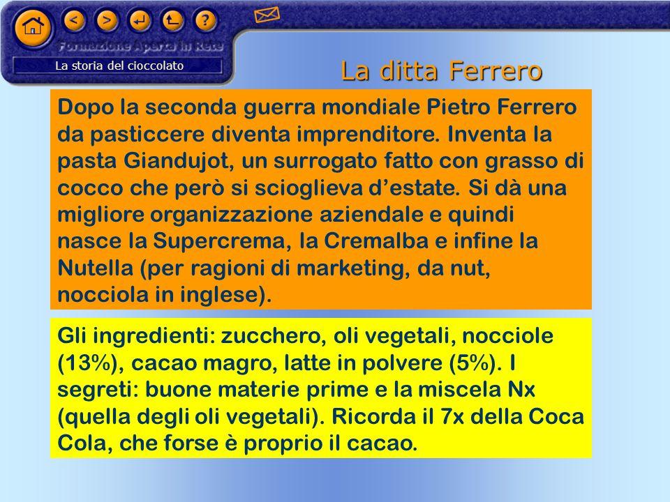 La ditta Ferrero