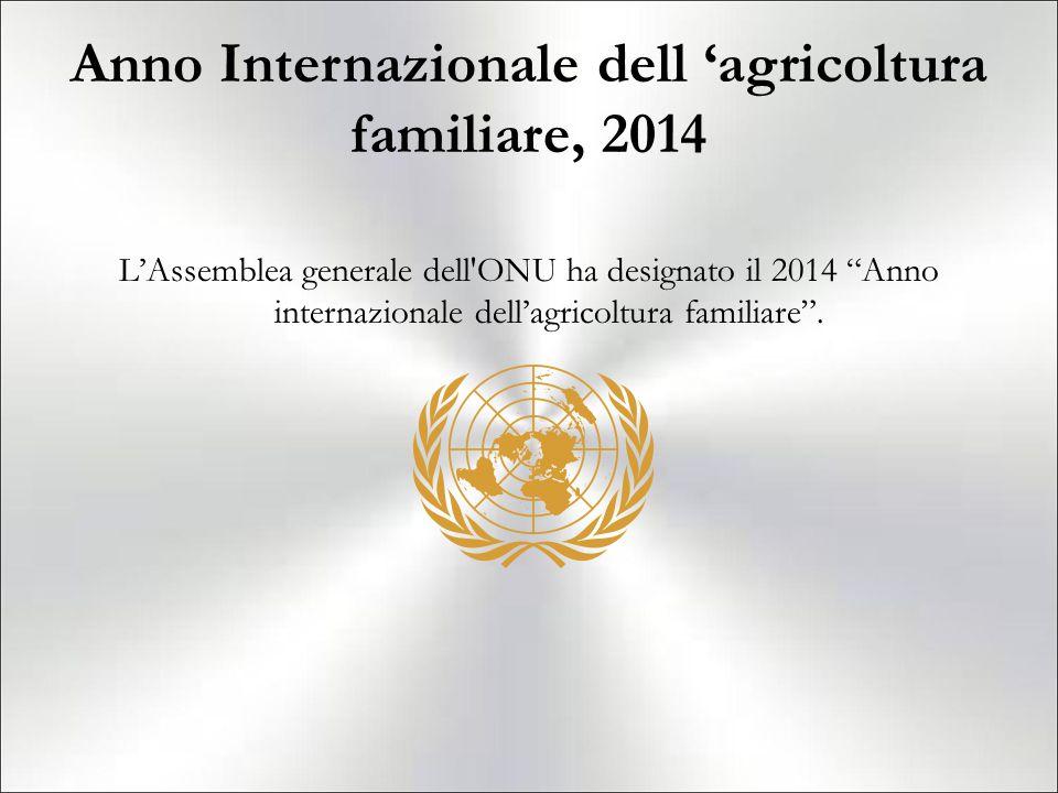 Anno Internazionale dell 'agricoltura familiare, 2014