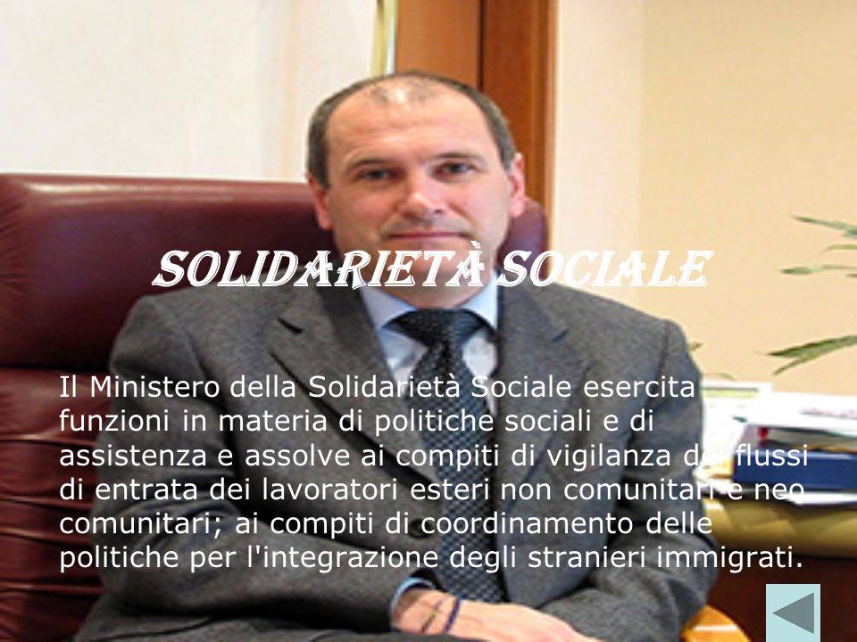 Solidarietà sociale