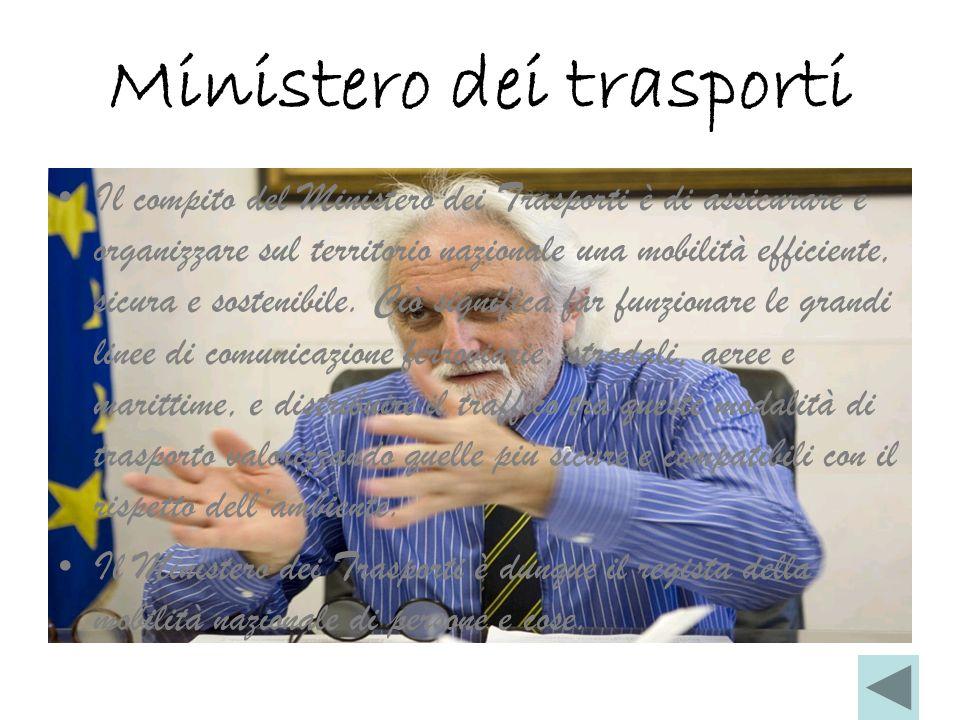 Ministero dei trasporti
