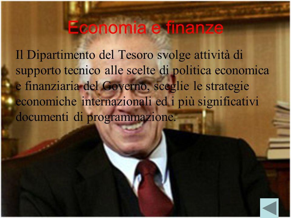 Economia e finanze