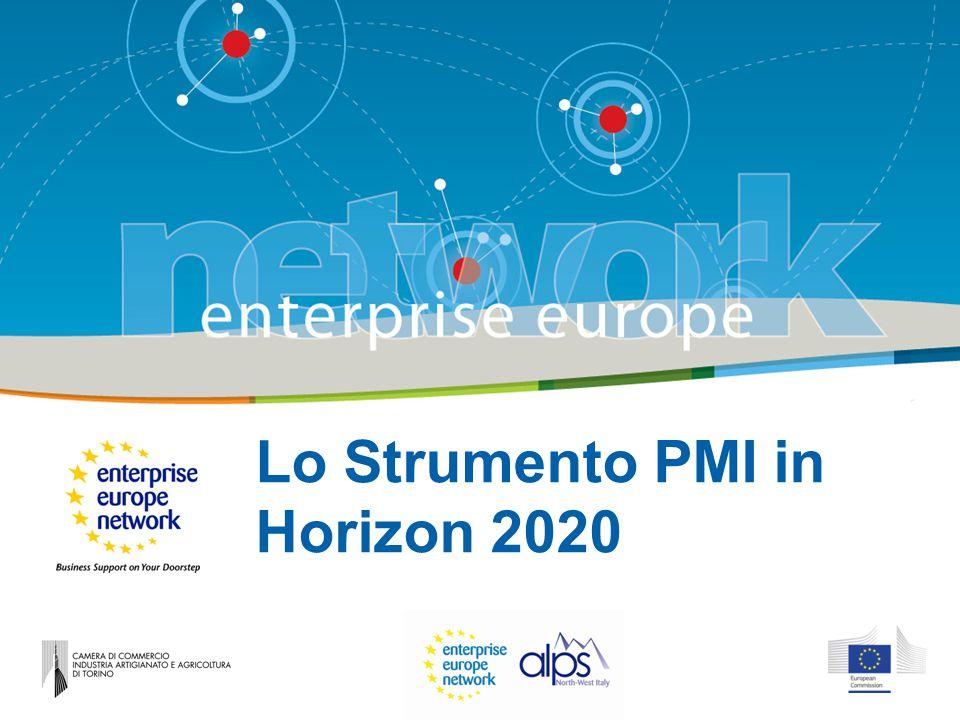 Lo Strumento PMI in Horizon 2020