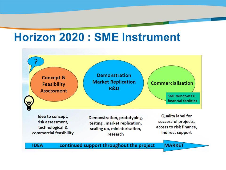 Horizon 2020 : SME Instrument
