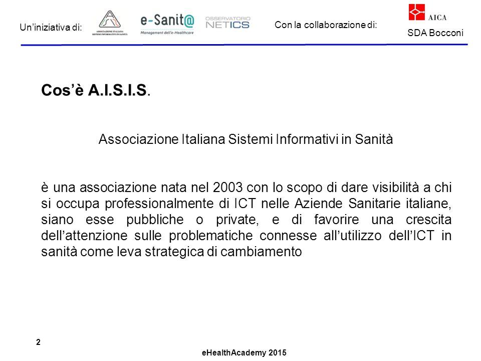 Associazione Italiana Sistemi Informativi in Sanità