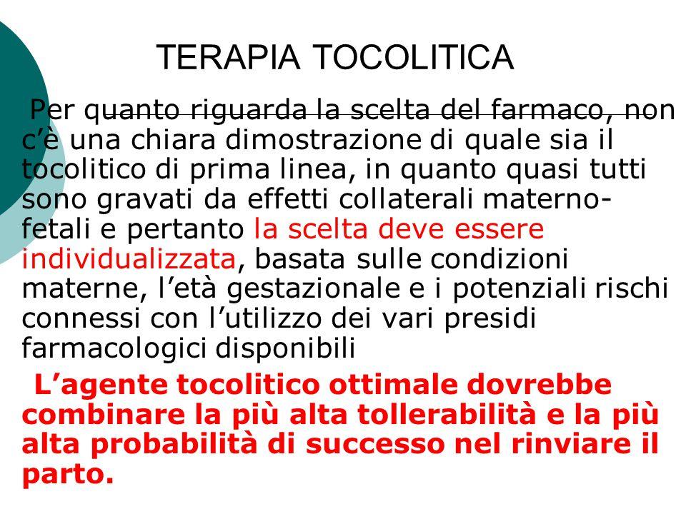 TERAPIA TOCOLITICA