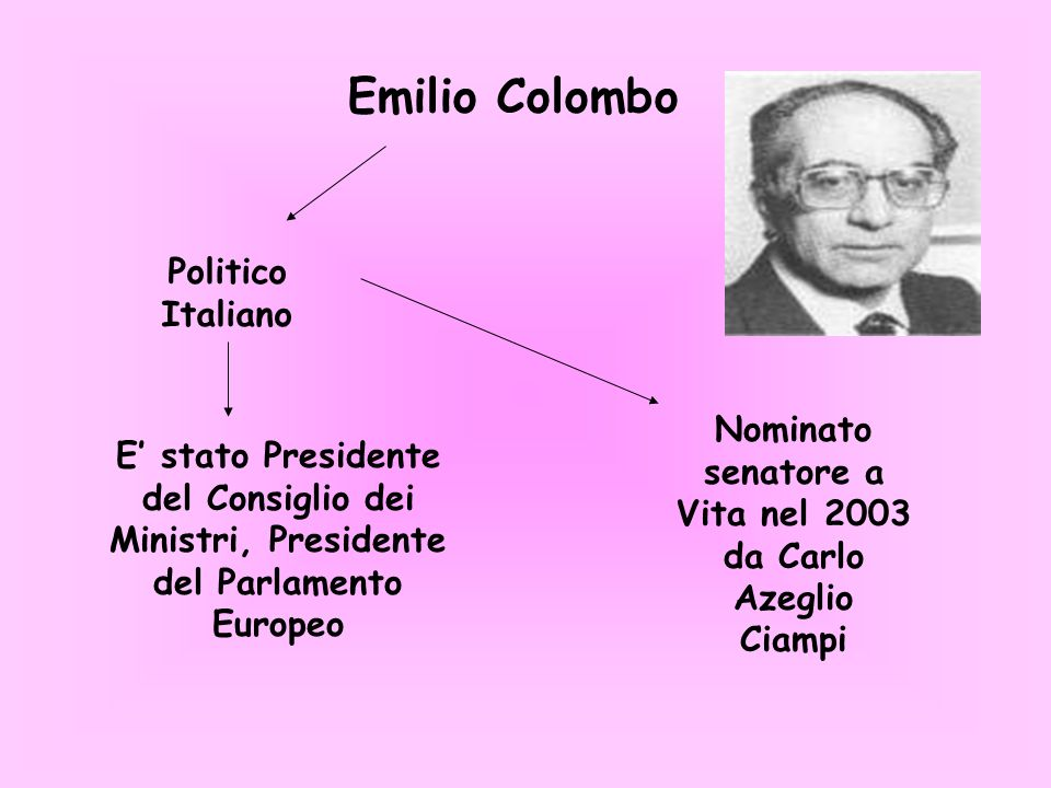 Nominato senatore a Vita nel 2003 da Carlo Azeglio Ciampi