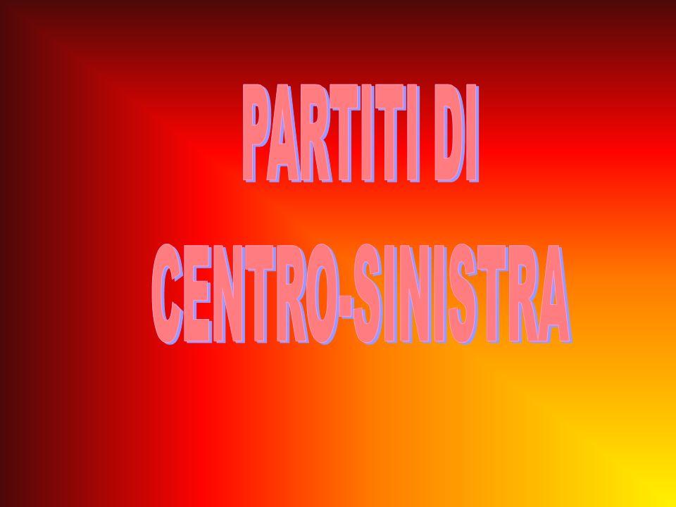 PARTITI DI CENTRO-SINISTRA