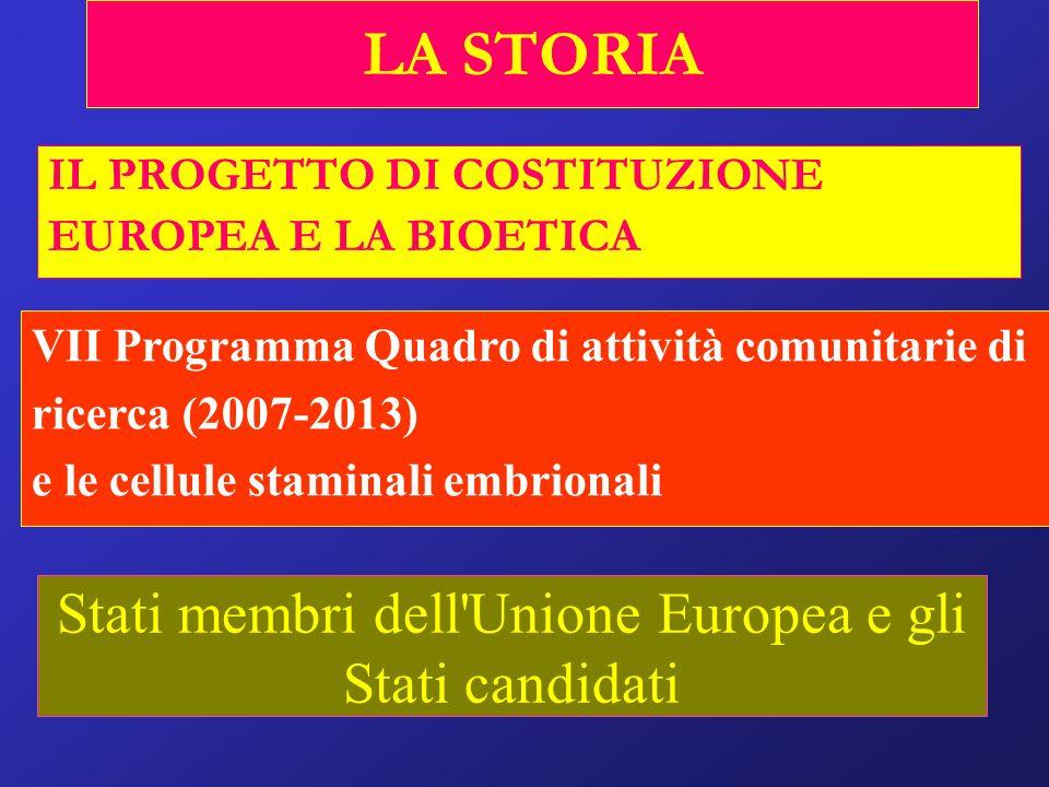 Stati membri dell Unione Europea e gli Stati candidati