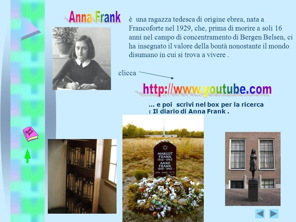 http://www.youtube.com Anna Frank