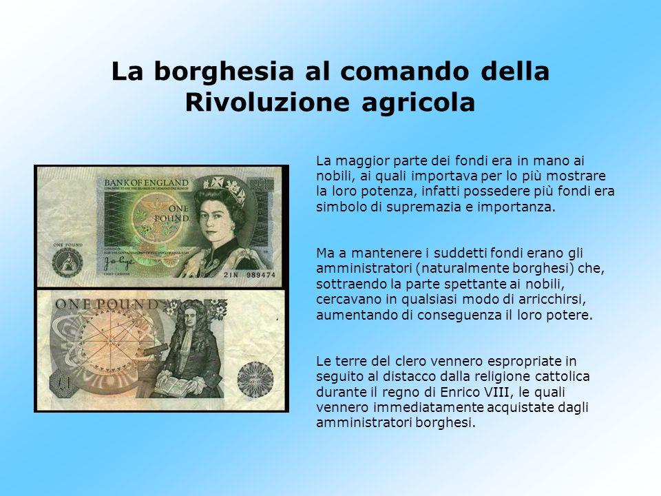 La borghesia al comando della Rivoluzione agricola