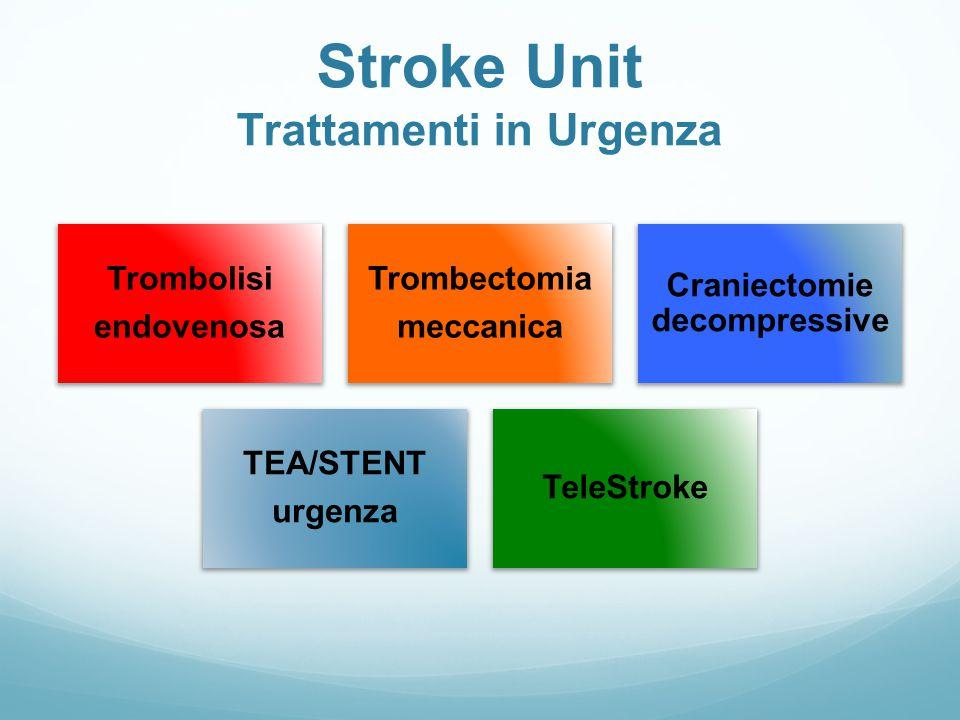 Stroke Unit Trattamenti in Urgenza
