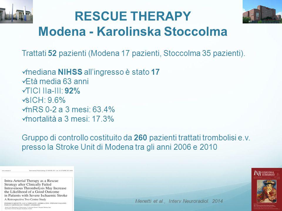 Modena - Karolinska Stoccolma