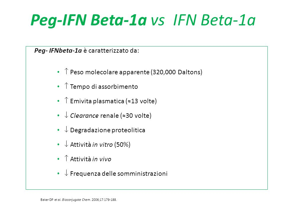 Peg-IFN Beta-1a vs IFN Beta-1a