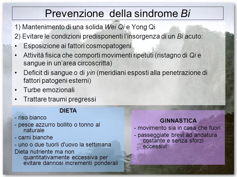 Prevenzione della sindrome Bi