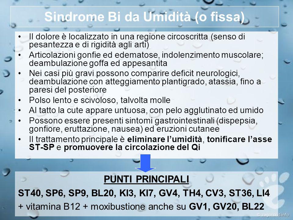 Sindrome Bi da Umidità (o fissa)