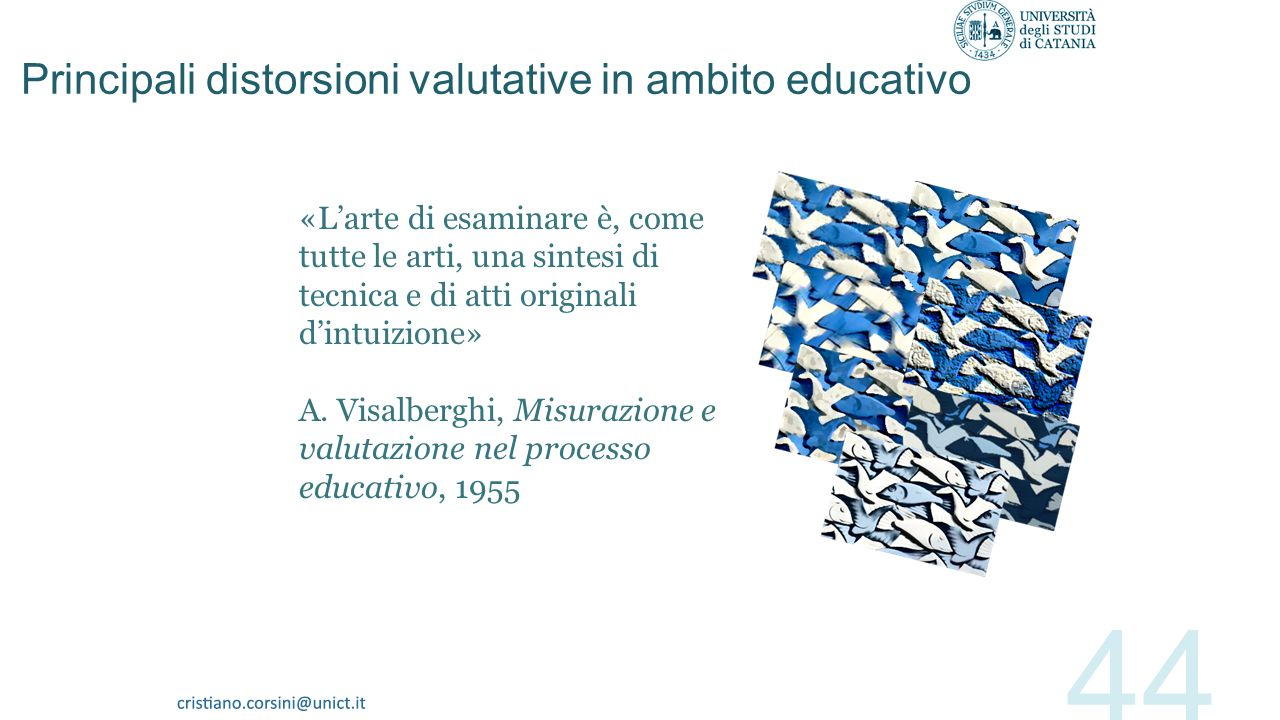 Principali distorsioni valutative in ambito educativo