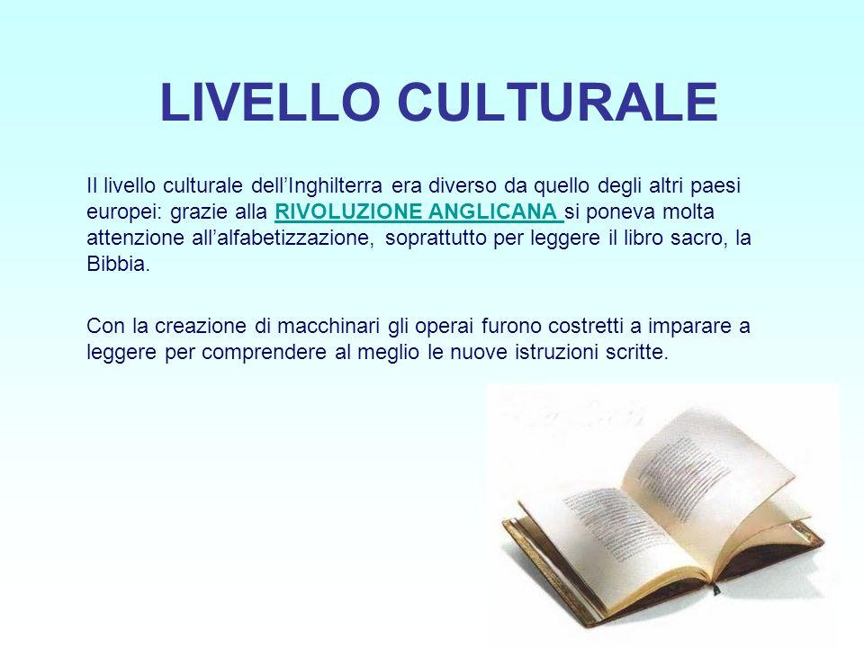 LIVELLO CULTURALE