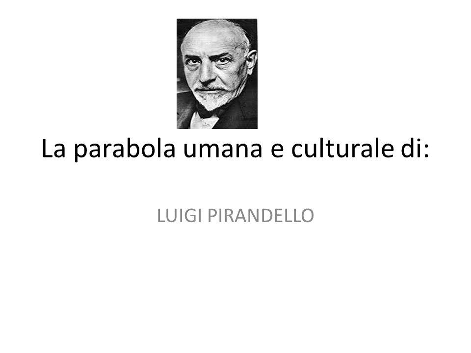 La parabola umana e culturale di: