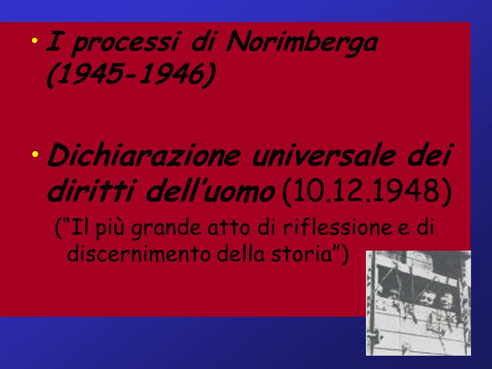 Dichiarazione universale dei diritti dell'uomo (10.12.1948)