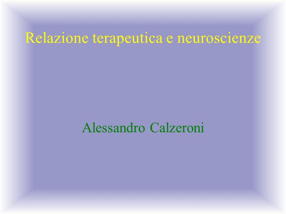Relazione terapeutica e neuroscienze
