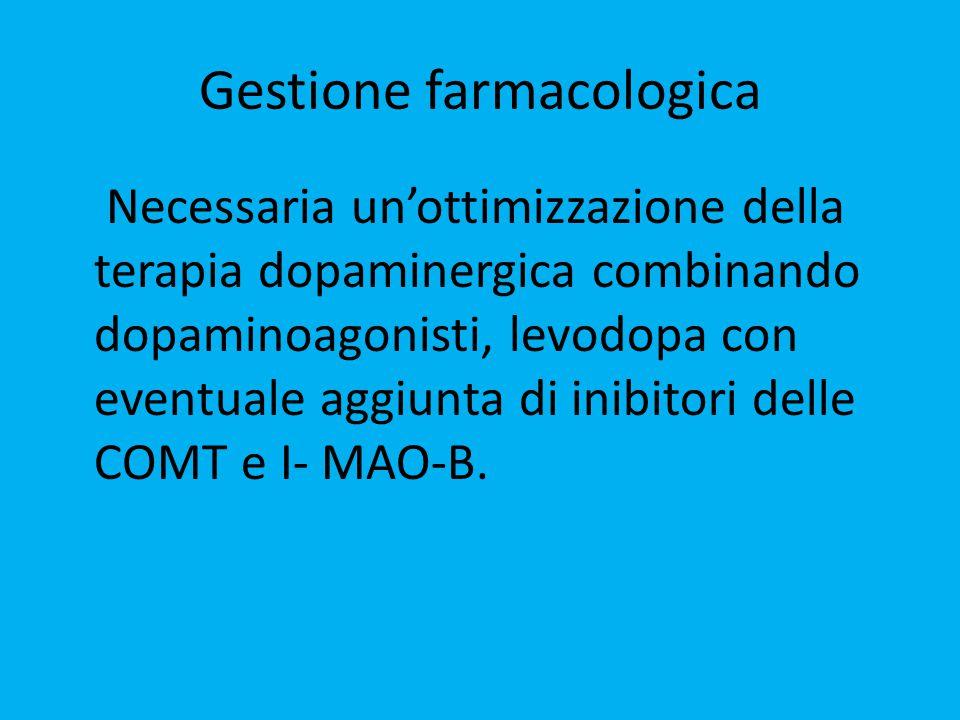 Gestione farmacologica