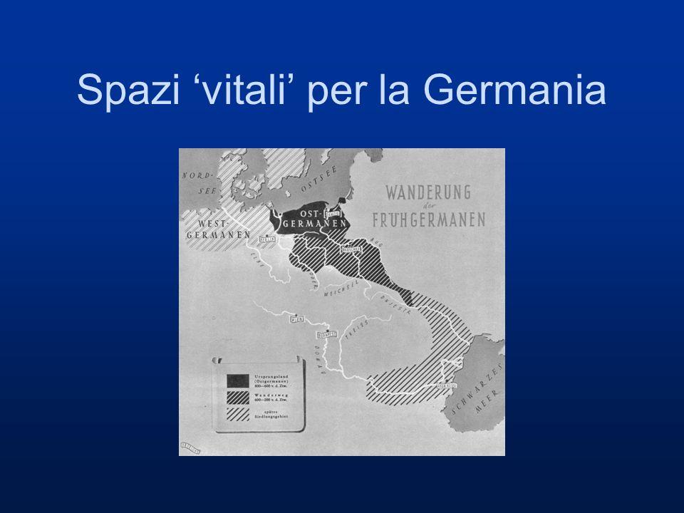 Spazi 'vitali' per la Germania