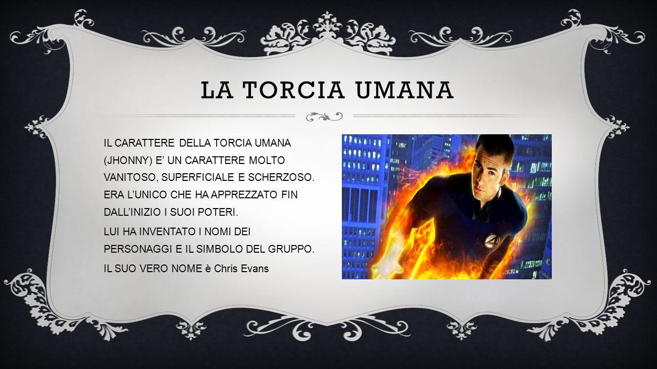 LA TORCIA UMANA