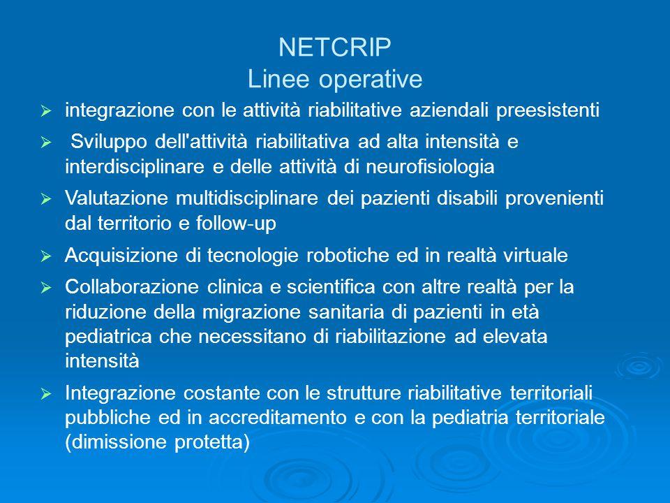 NETCRIP Linee operative