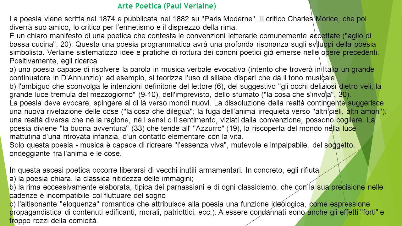 Arte Poetica (Paul Verlaine)