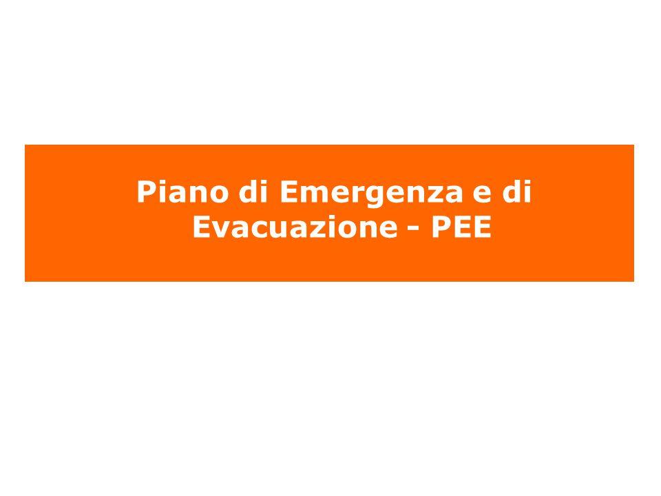 Piano di Emergenza e di Evacuazione - PEE