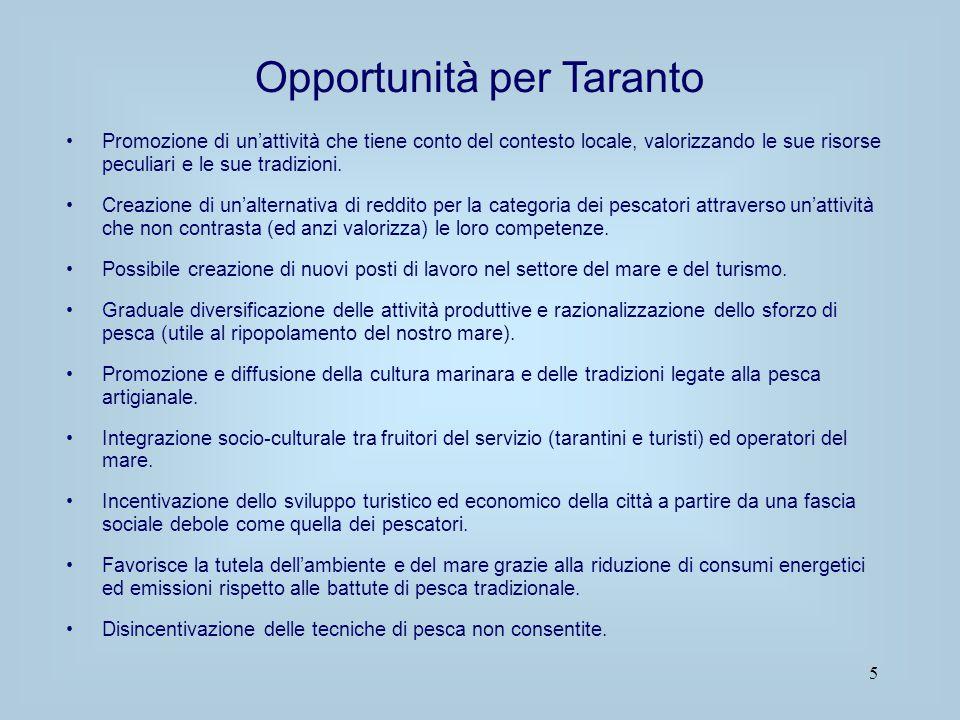 Opportunità per Taranto
