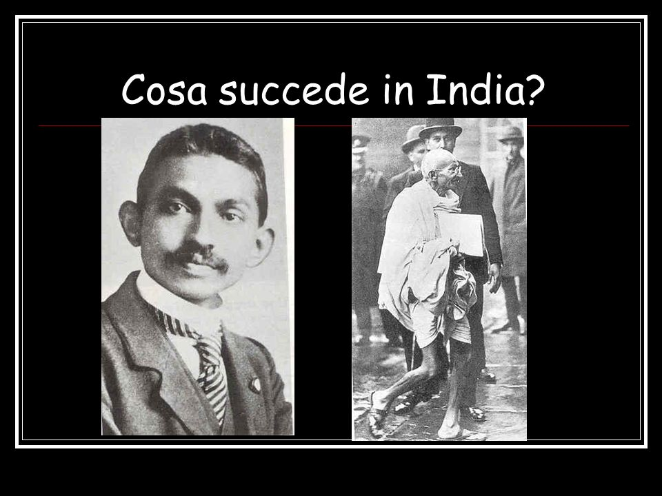 Cosa succede in India