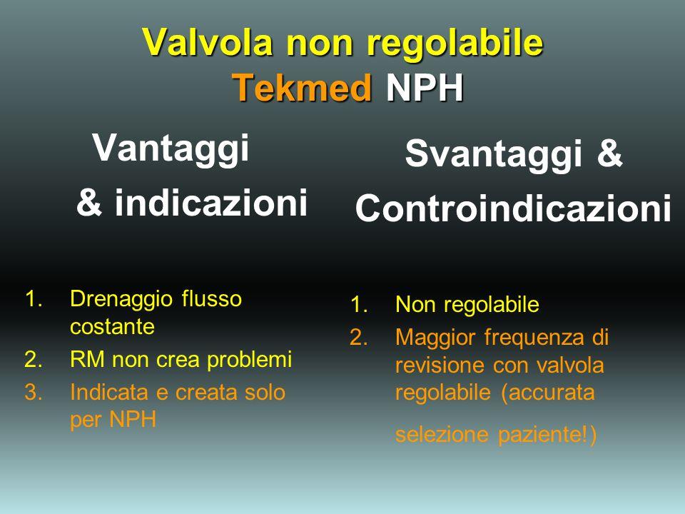 Valvola non regolabile Tekmed NPH