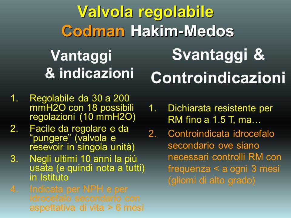 Valvola regolabile Codman Hakim-Medos