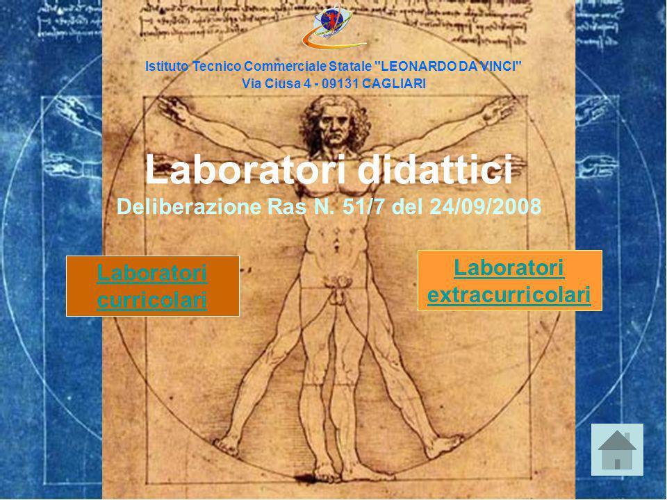 Laboratori didattici Deliberazione Ras N. 51/7 del 24/09/2008