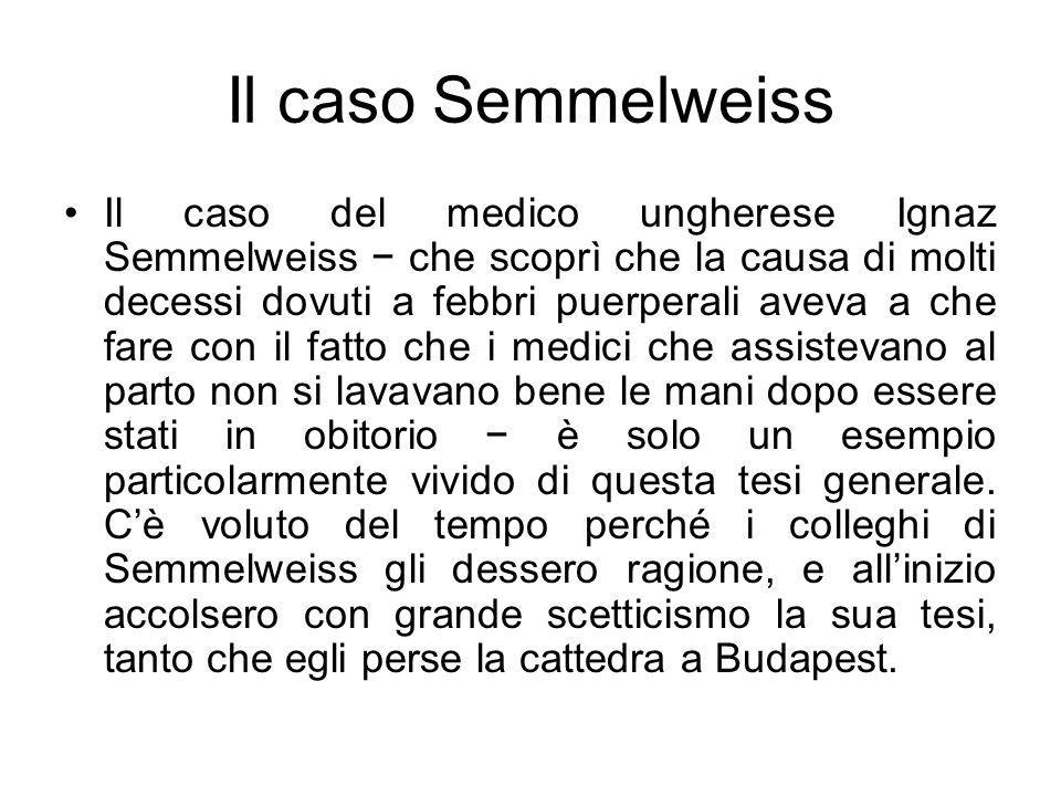 Il caso Semmelweiss