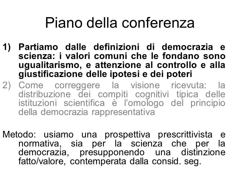 Piano della conferenza