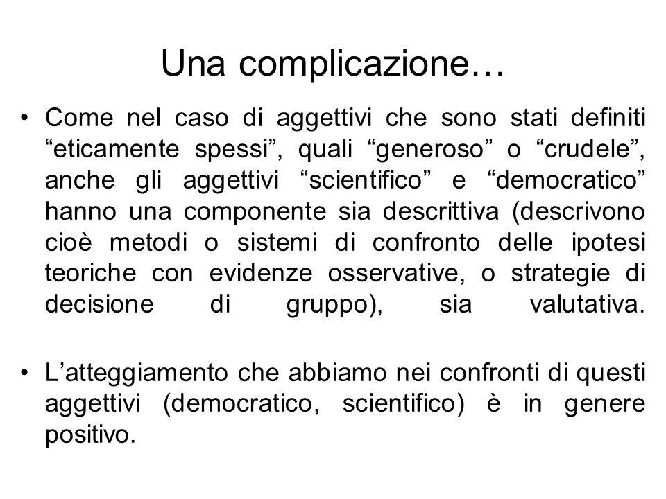 Una complicazione…