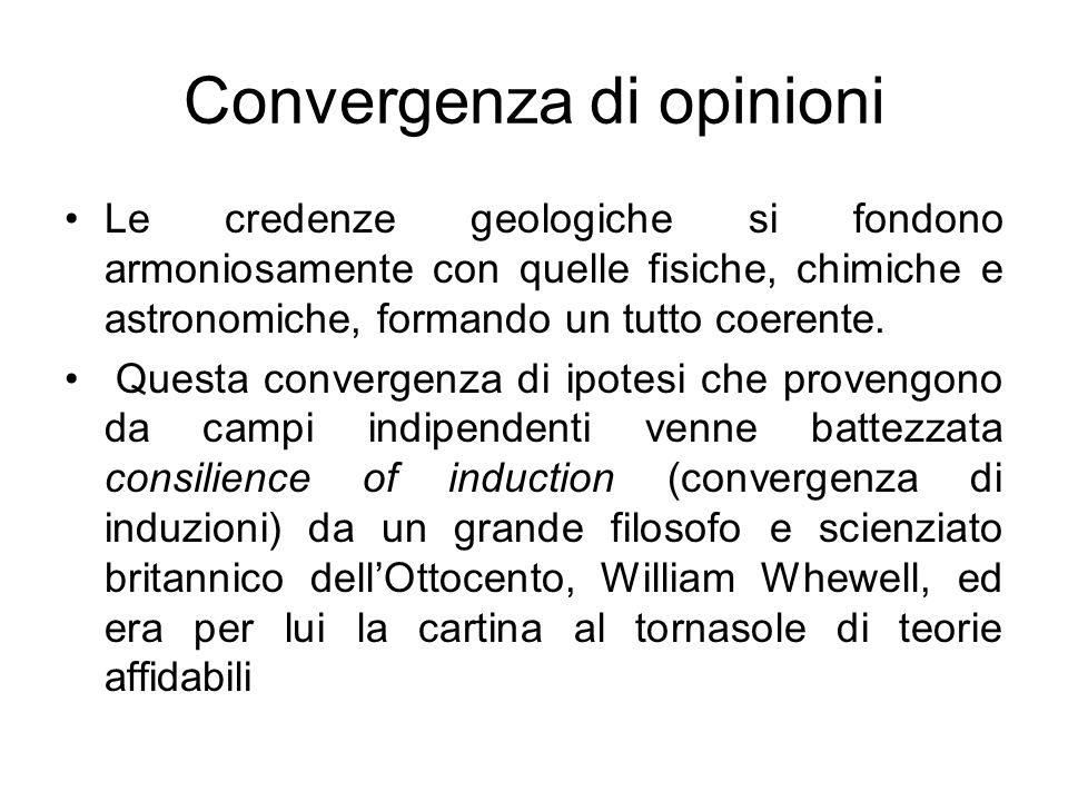 Convergenza di opinioni