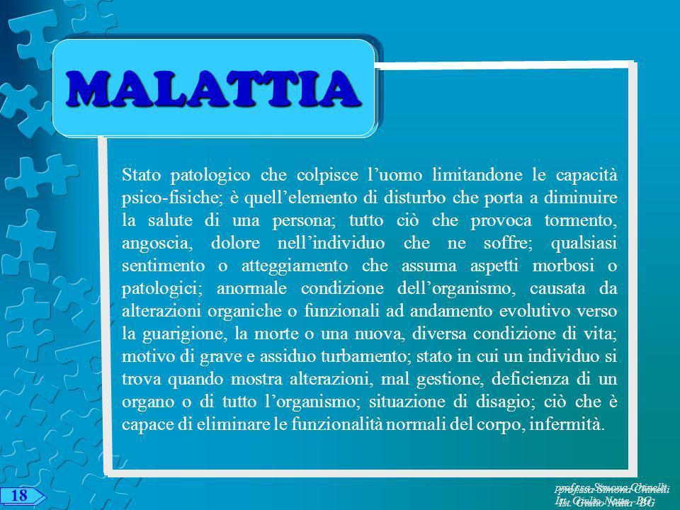 MALATTIA MALATTIA.
