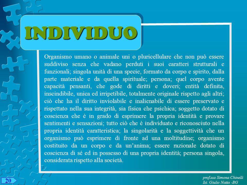INDIVIDUO
