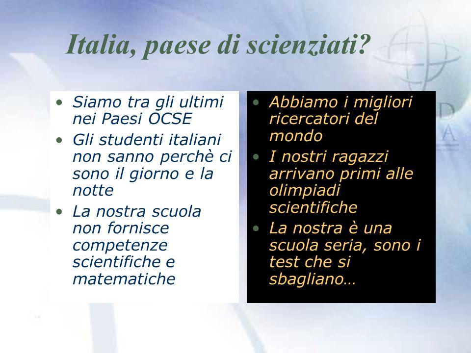 Italia, paese di scienziati