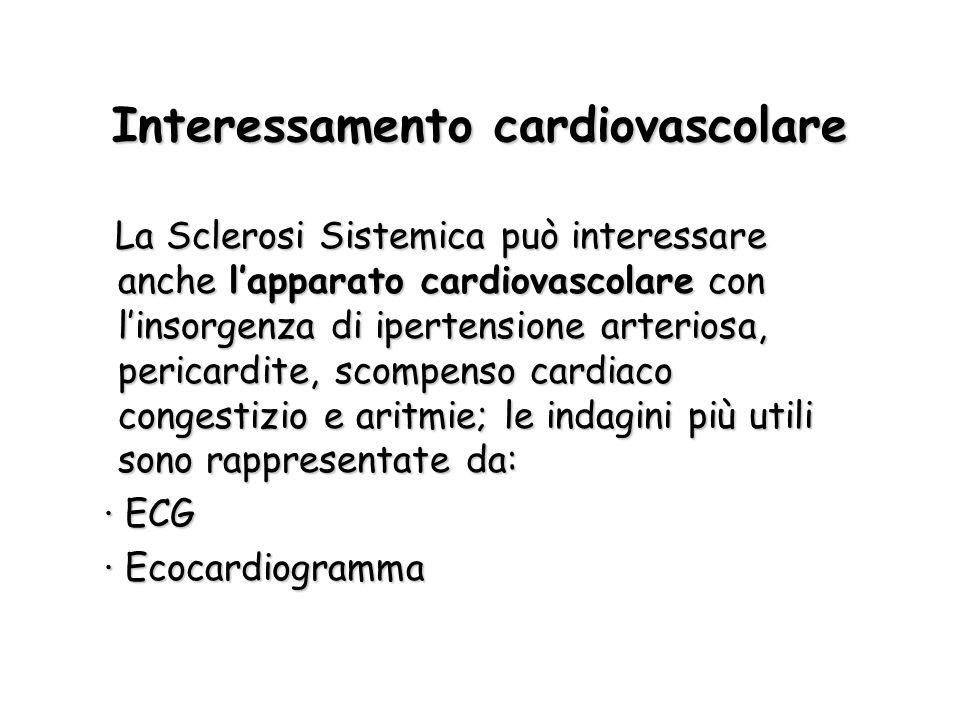 Interessamento cardiovascolare