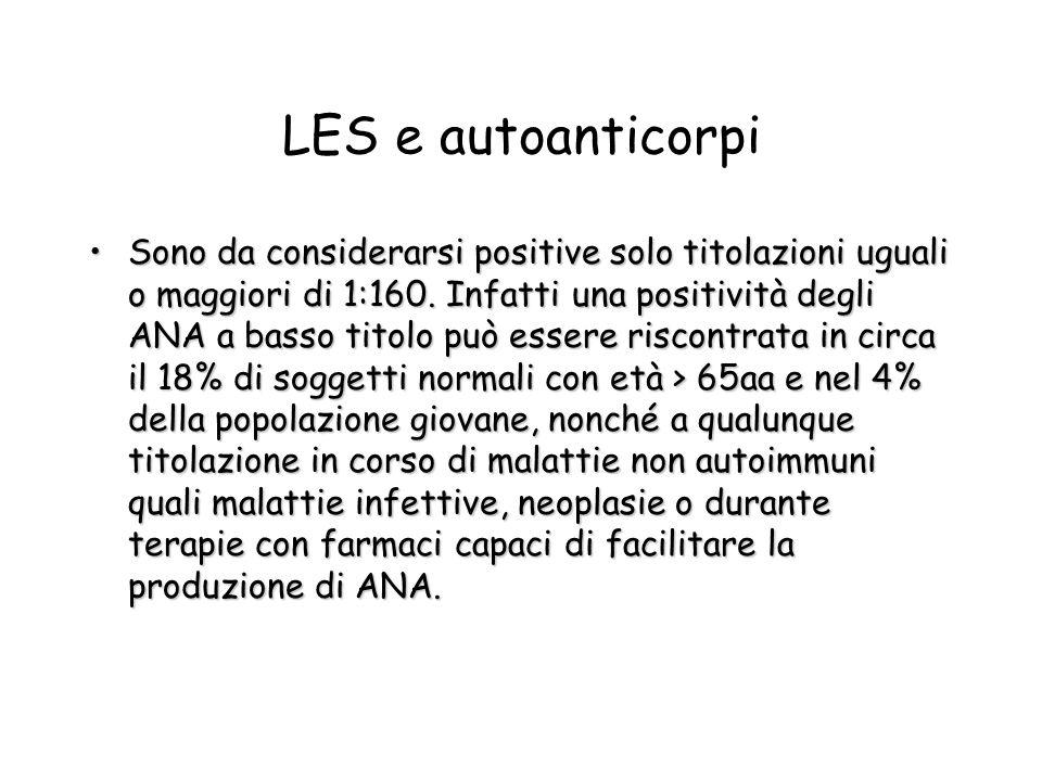 LES e autoanticorpi