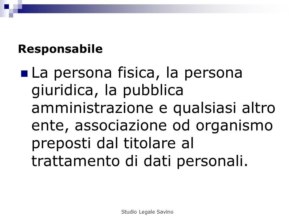 Responsabile